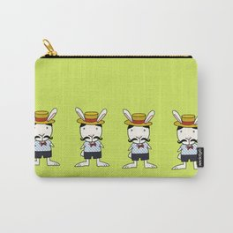 Country Bunny Carry-All Pouch