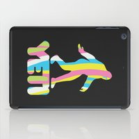 yeti iPad Cases featuring Yeti by D-fens
