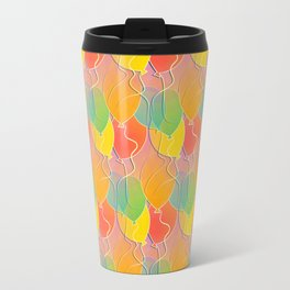 Multicolored Balloons Pattern Travel Mug
