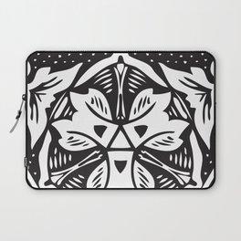 BLACK DESIGN2 Abstract Art Laptop Sleeve