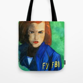 Agent Scully FBI Tote Bag
