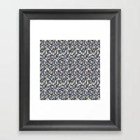 Color Block New Framed Art Print