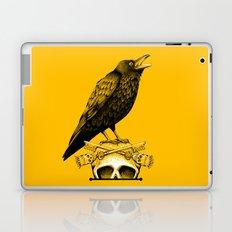 Black Crow, Skull and Cross Keys Laptop & iPad Skin