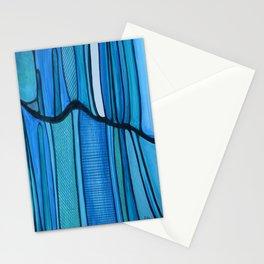 2 Blue Stationery Cards
