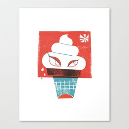Hot and Cold Canvas Print