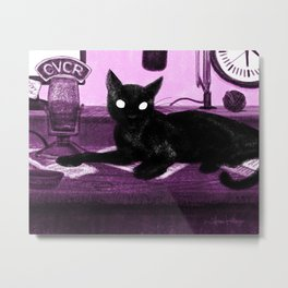 Voice of Cat Vale Metal Print