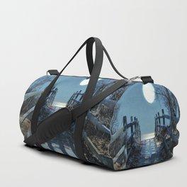 Under The Moonbeams Duffle Bag