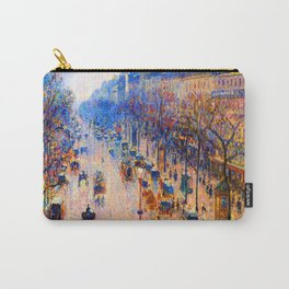 Camille Pissarro Boulevard Montmartre Winter Carry-All Pouch