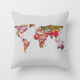 It's Your World Throw Pillow