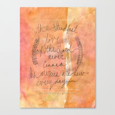 Great is thy Faithfulness Canvas Print