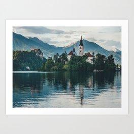 Lake Bled, Slovenia, 6 Art Print