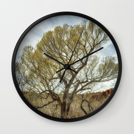 Cottonwood by Oak Creek Wall Clock