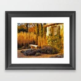 Le Jardin de Vincent Framed Art Print