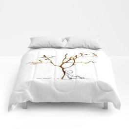 Grape tree Comforters