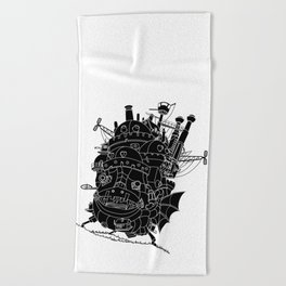 Howl's moving castle. Beach Towel