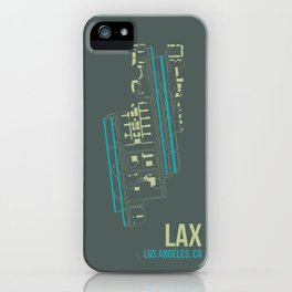 LAX iPhone Case