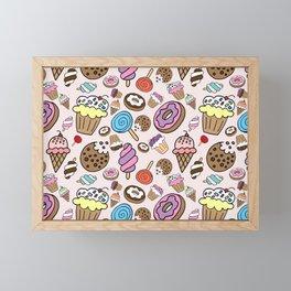 Desserts and Sweets Framed Mini Art Print