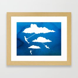 In Full Swing Framed Art Print