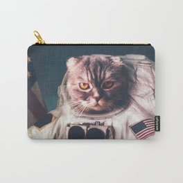 Beautiful cat astronaut Carry-All Pouch