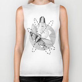 Moth to the Flame Biker Tank