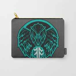 Absit Omen Logo Carry-All Pouch