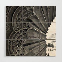 Alhambra Window Wood Wall Art