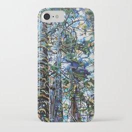 Hemlock Tree Moss iPhone Case