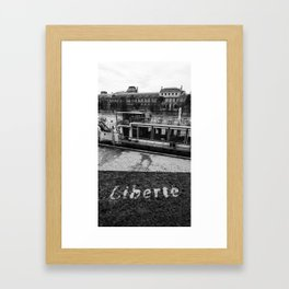 Liberté! Framed Art Print