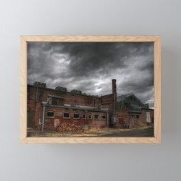 Behind the Old Theatre Framed Mini Art Print
