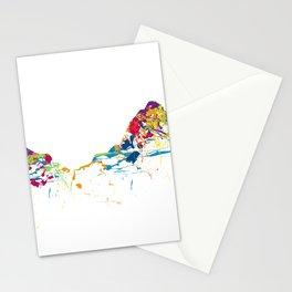 MOUNT MYTHEN MOUNTAINSPLASH color Stationery Cards
