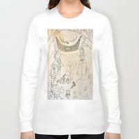 alice in wonderland Long Sleeve T-shirts featuring Wonderland  by Jgarciat