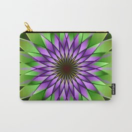 Lavender lotus mandala Carry-All Pouch