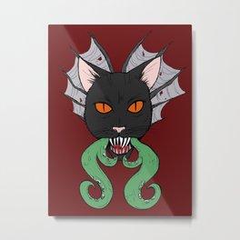 Cat of Nightmares Metal Print