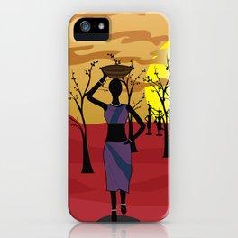 Vector art iPhone Case