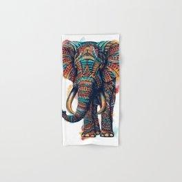 Ornate Elephant (Watercolor) Hand & Bath Towel