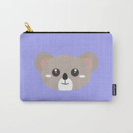 Cute friendly Koala head Carry-All Pouch