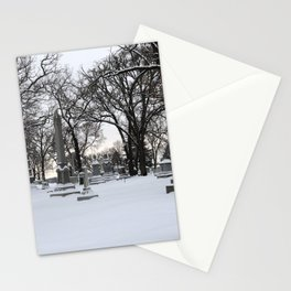 Haunted Winter II Stationery Cards