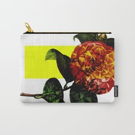 Vintage Bloom /Neon Block Carry-All Pouch