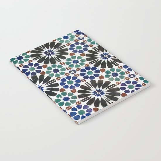 Azulejos Lisbon Portugal 4 Notebook