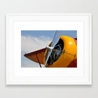 plane Framed Art Prints featuring Plane by Mark Giarrusso