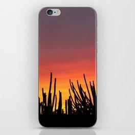 Catching fire iPhone Skin