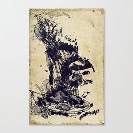 the architect's dream Canvas Print