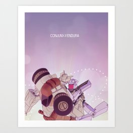 conjunx endura Art Print