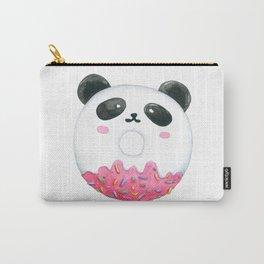 Panda Donut Art Work Carry-All Pouch
