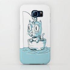 Feeding My Cat Galaxy S6 Slim Case