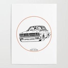 Crazy Car Art 0222 Poster