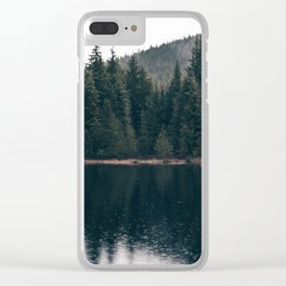 Forest Lake Clear iPhone Case