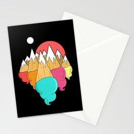 Ice-cream mounts Stationery Cards