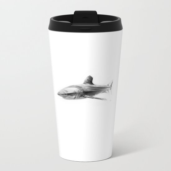 Shark I Metal Travel Mug