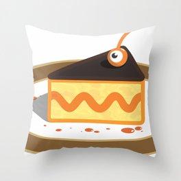 sweety p.eye Throw Pillow